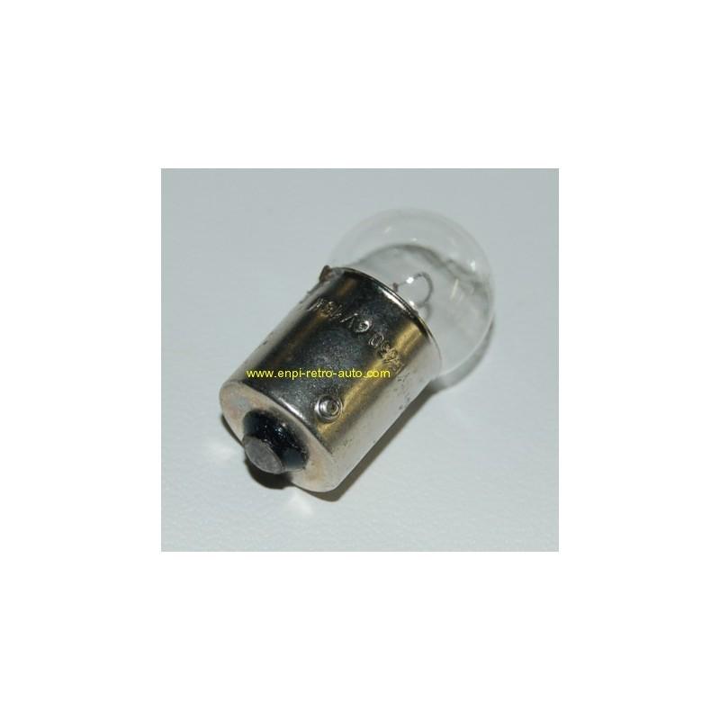 Ampoule petite poire 6v 15w BA15S culot 15mm,
