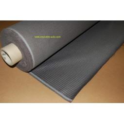 Tissu rayé gris foncé 2 tons (de 1950 à Juillet 1952) Citroen traction avant