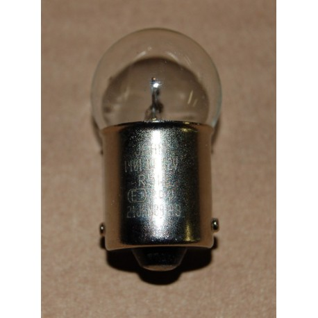 Ampoule feux arrière 1 filament 12v 4w BA15S culot15mm, H37.5