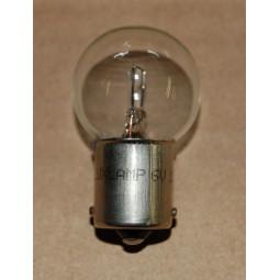 Ampoule feux arrière 1 filament 6v 15w BA15S culot15mm, H37.5
