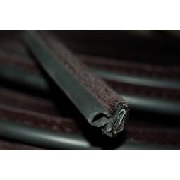Armé avec tube caoutchouc recouvert-Velours noir- Snap-on -Porte