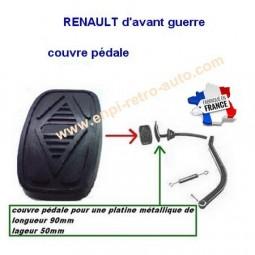 """Couvre pédale Renault d'avant guerre """"90mm"""""""