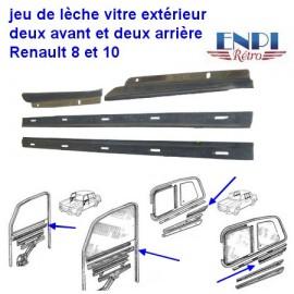Leche vitre extérieur Renault 8 & 10
