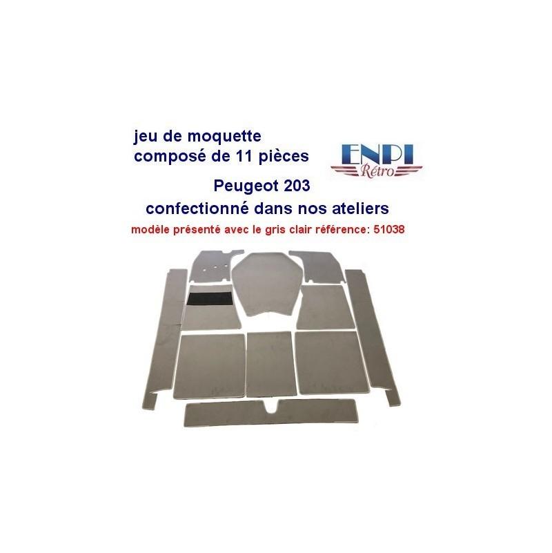 Peugeot - Jeu de moquette 203