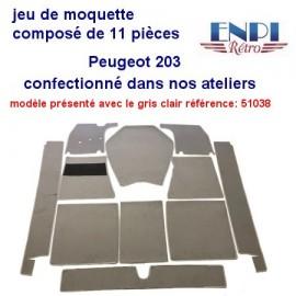 Jeu de moquette Peugeot 203