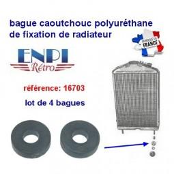 Bague de Fixation Bas de Radiateur