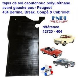 Tapis de sol avant gauche Peugeot 404