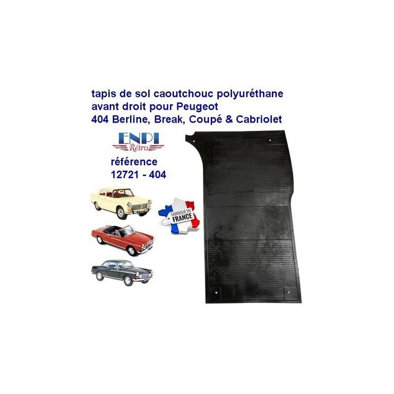 Tapis de sol avant droit Peugeot 404