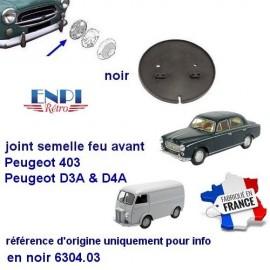 Peugeot  Semelle de feu avant