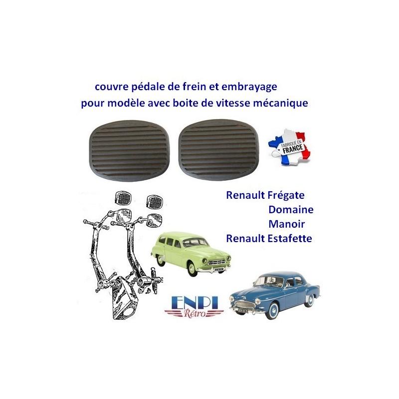 Couvre pédale Renault Estafette, Frégate
