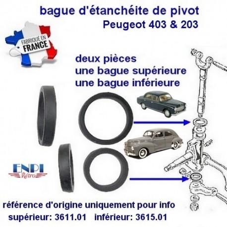 bague pivot Peugeot 203 & 403