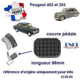Couvre pédale Peugeot