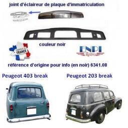 joint d'éclaireur de plaque gris Peugeot 403