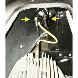 capuchon protecteur de cosse bobine, alternateur, dynamo
