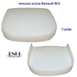 Mousse assise de siège avant Renault 4CV l'unité