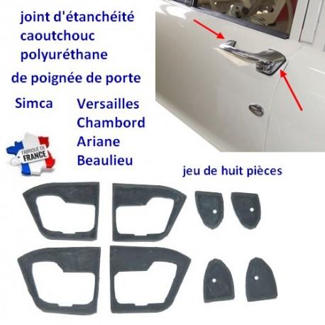 Joints de poignées de porte Simca Versailles