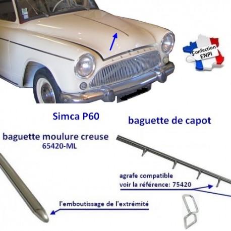 Baguette de Capot P60