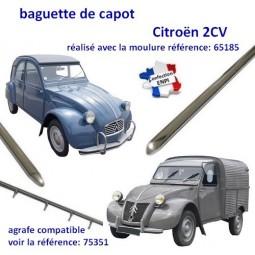 baguette de capot Citroën 2CV