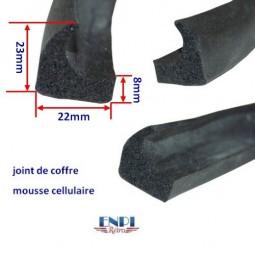Joint de coffre mousse cellulaire