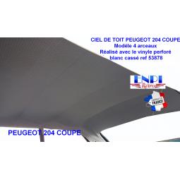 Ciel de toit Peugeot 204 Coupe
