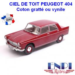 Ciel de toit Peugeot 404